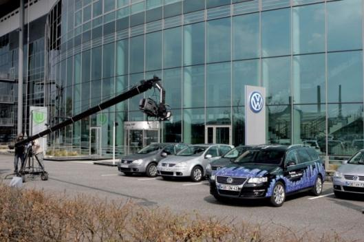 The system has been demonstrated in a Volkswagen Passat Variant