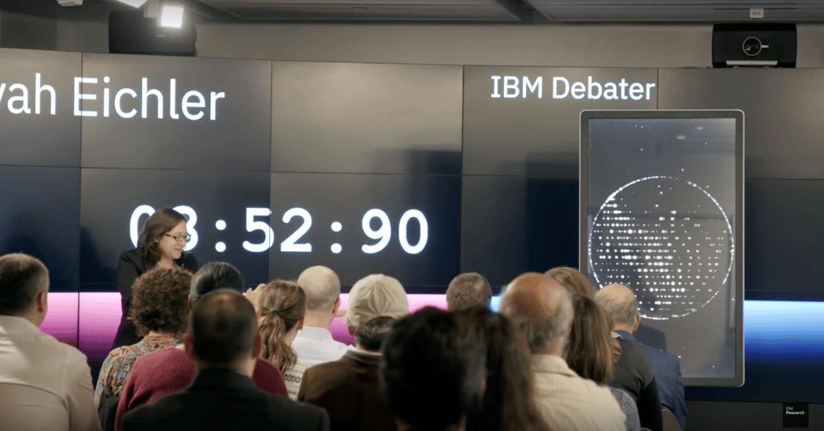 IBM's ProjectDebater has won a debate by audience vote