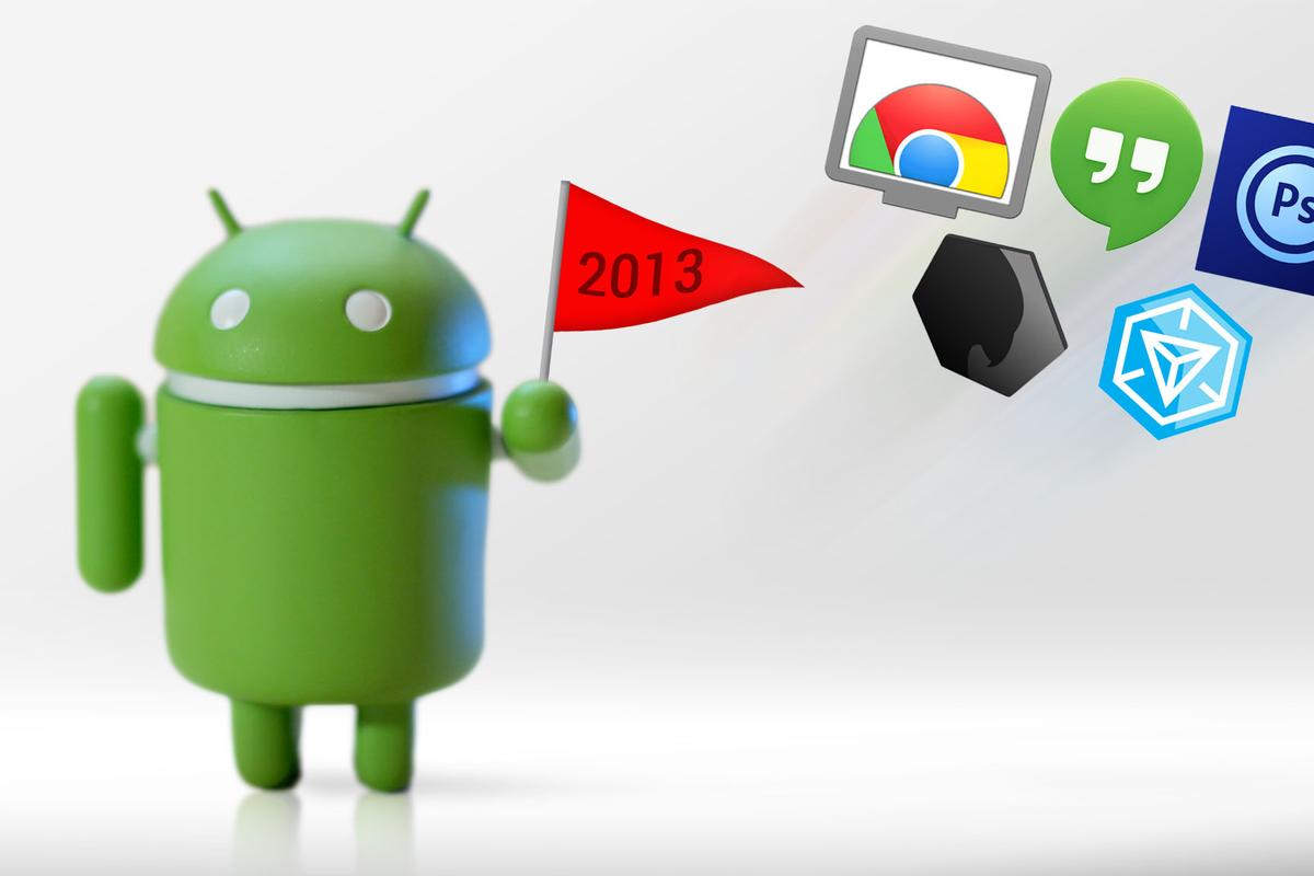Gizmag breaks down some of our favorite Android apps of 2013