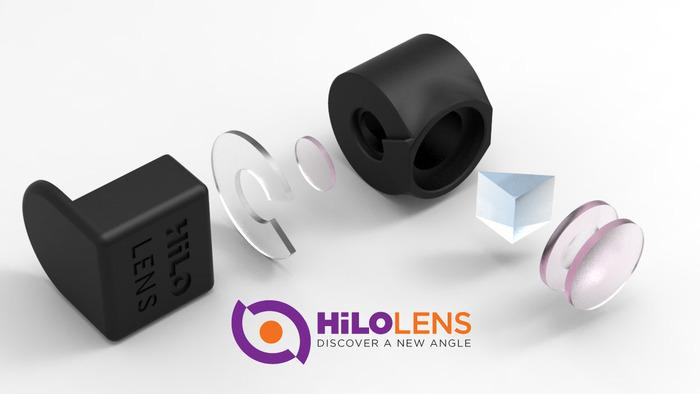 The components of the HiLO lens