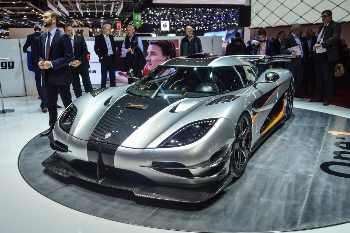 The One:1 breaks cover at the 2014 Geneva Motor Show (Photo: CC Weiss/Gizmag.com)