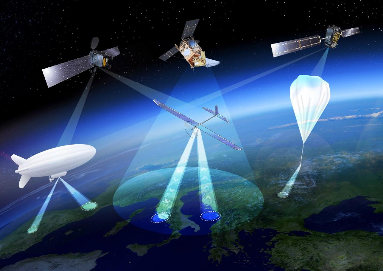 High Altitude Pseudo-Satellitesare platforms that float or fly at high altitude like conventional aircraft but operate more like satellites
