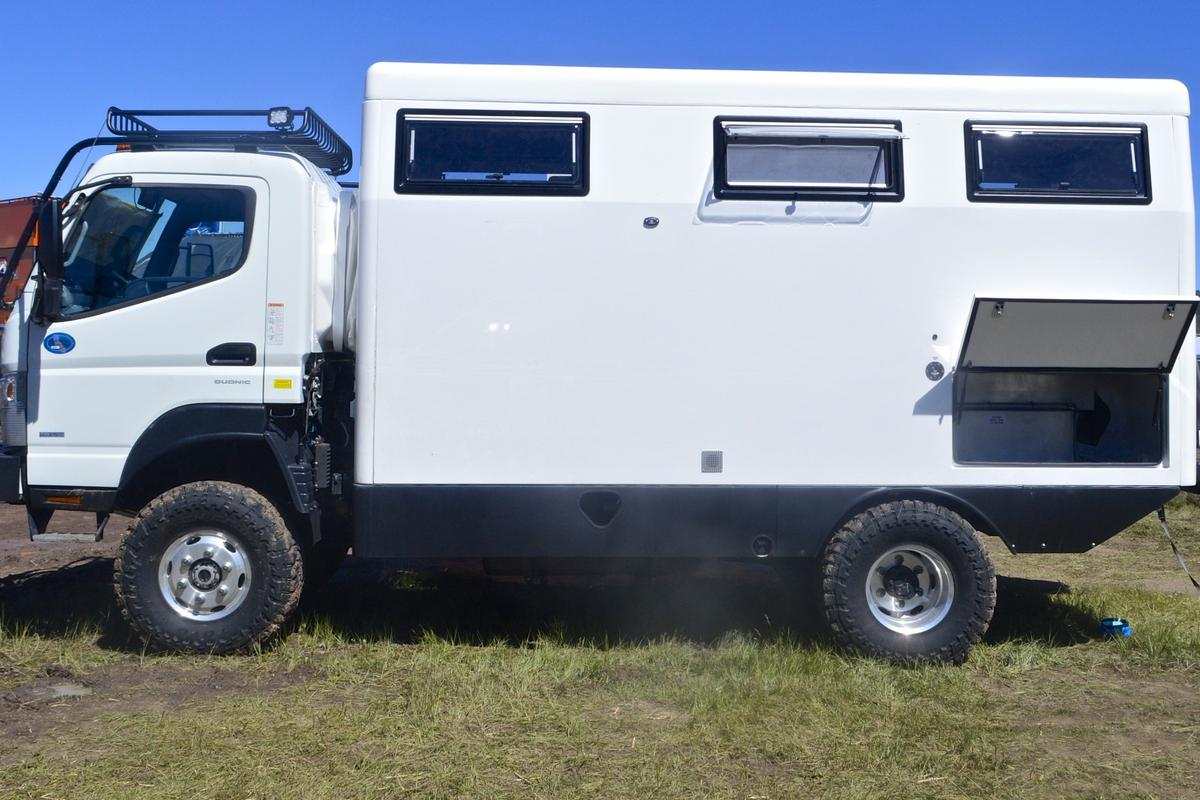 EarthCruiser shows the new FX at Overland Expo West 2015