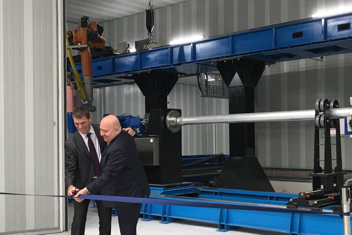 Titomic unveiled the world's largest 3D printer this week in Melbourne, Australia