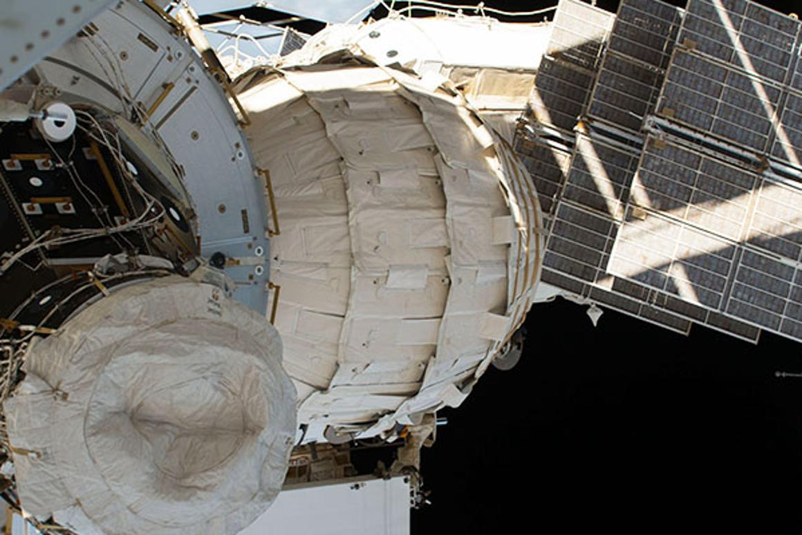 The Bigelow Expandable Activity Module (BEAM), a prototype inflatable space station module,  has now been attached to the ISS for a year