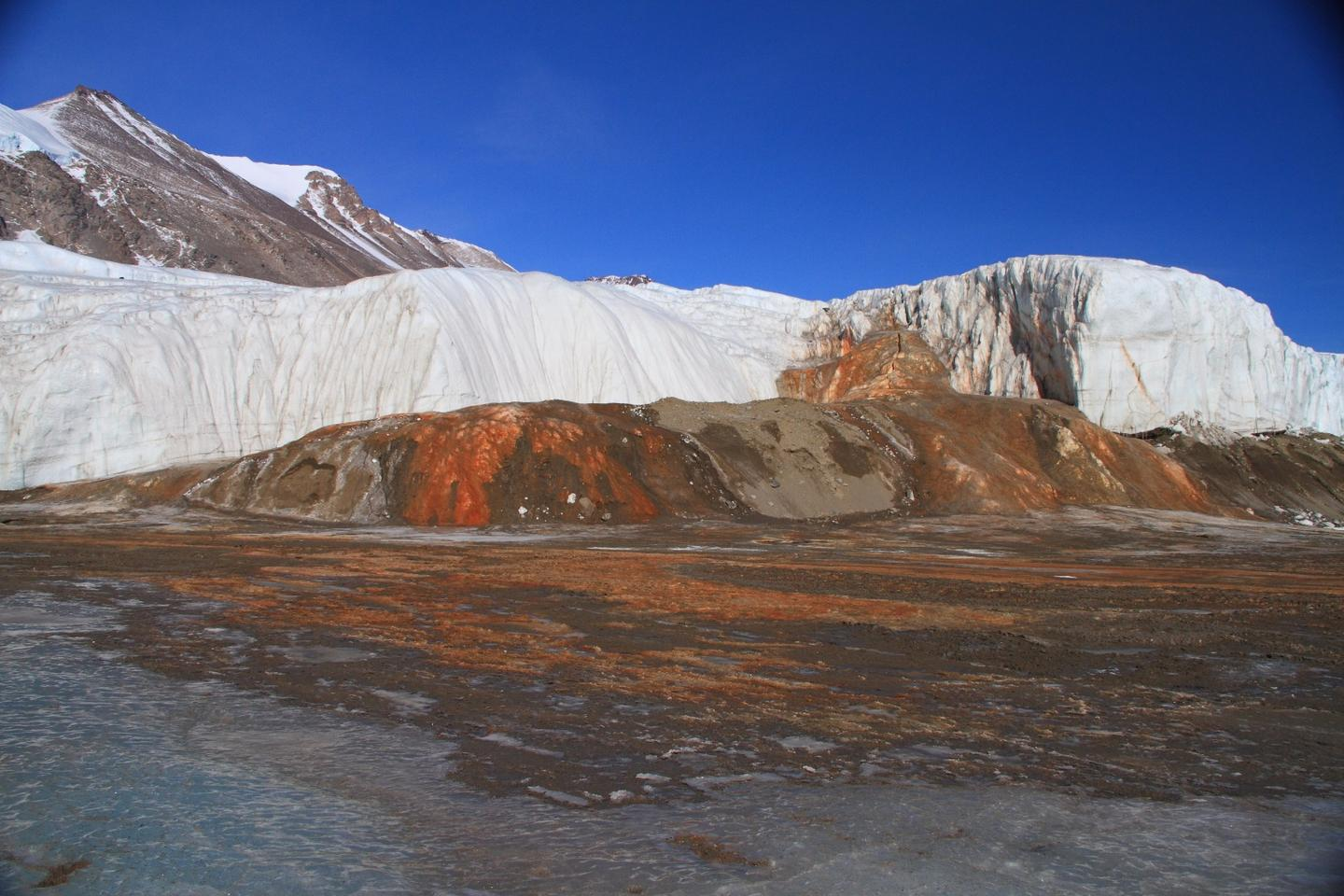 Blood Falls is a famous iron-rich outflow of water that scientists suspected was connected to a water source that may have been trapped under an Antarctic glacier for more than a million years
