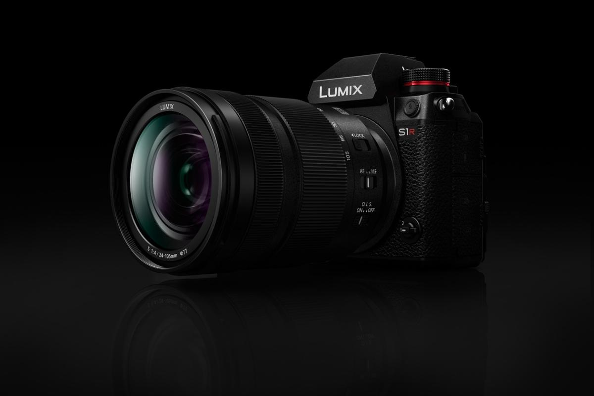 Panasonic LUMIX s1R - professional full frame mirrorless