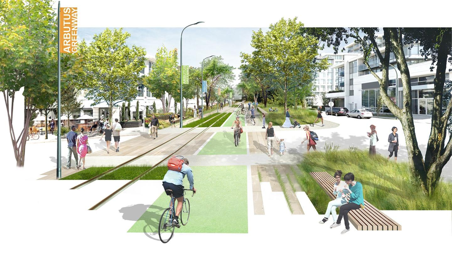 The Arbutus Greenway is set to be completed by the end of 2018