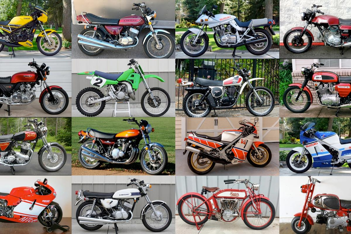 The 100 most interesting auction sales of motorcyclesfrom January 2018