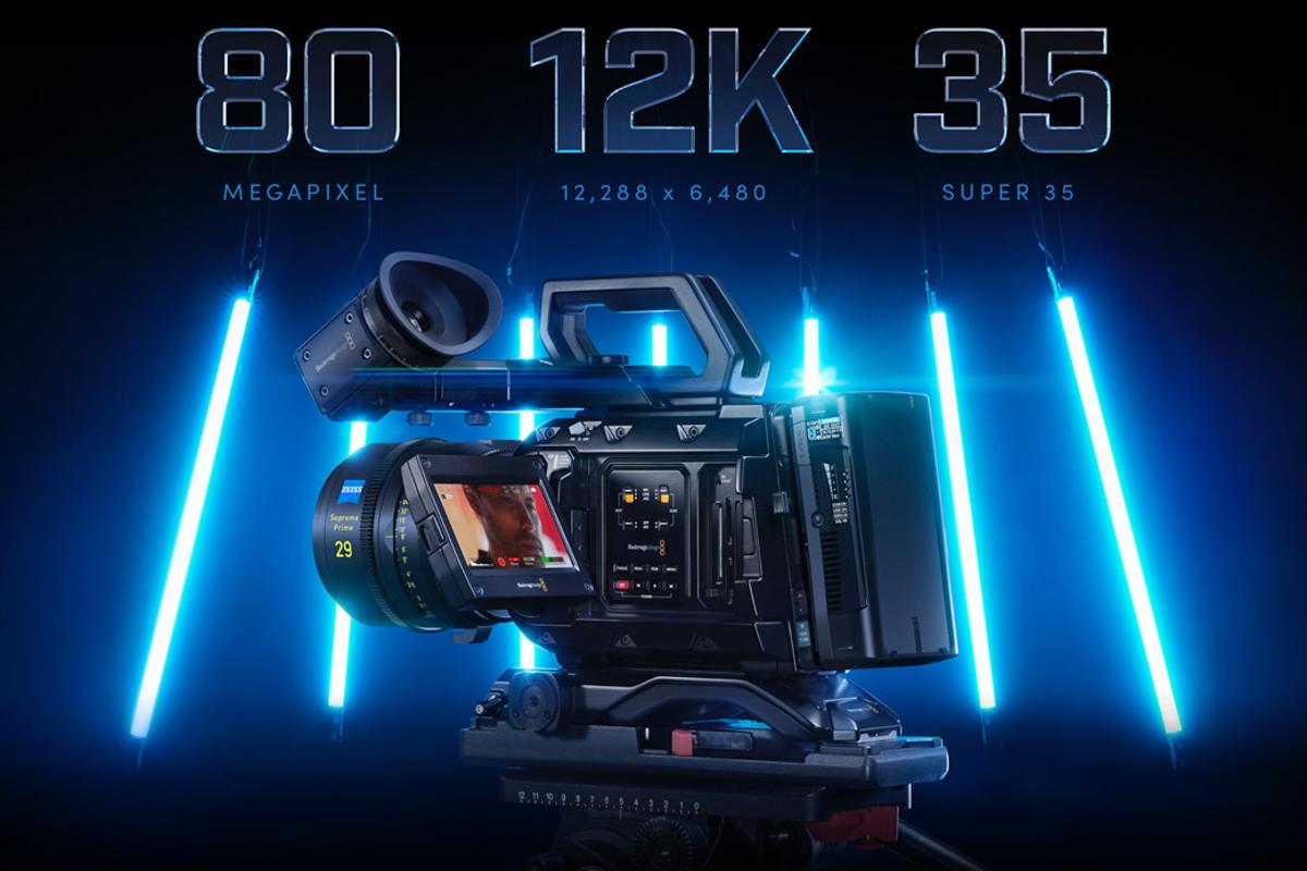 Pushing the limits: the Blackmagic Ursa Mini Pro 12 shoots 60fps, with every frame being a 12-megapixel RAW photo