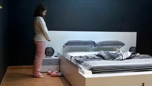 The OHEA Smart Bed can make itself automatically in 50 seconds