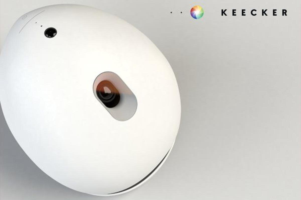 Keecker has launched a new home entertainment robot