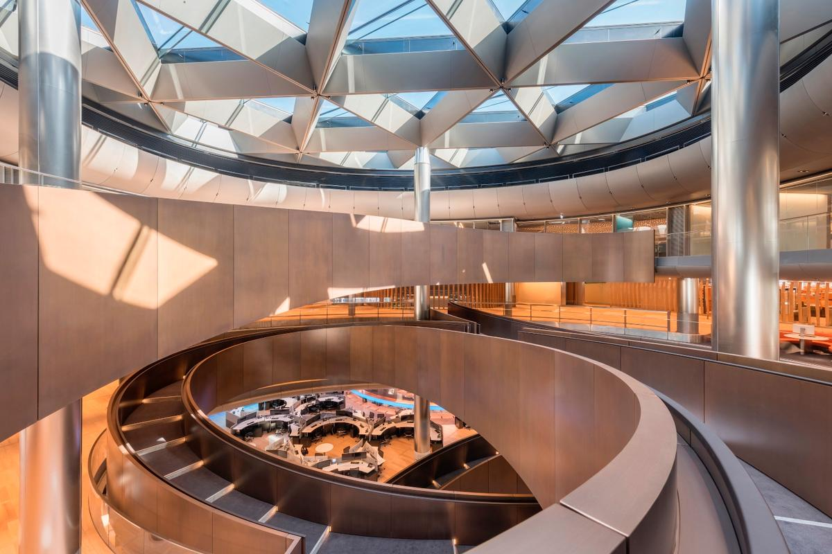 Bloomberg London represents the third time that Foster + Partners has been declared the winner of the most prestigious award in British architecture, RIBA's Stirling Prize