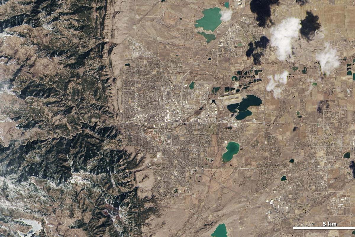 The newest Landsat satellite has transmitted its first images back home (Image: NASA)