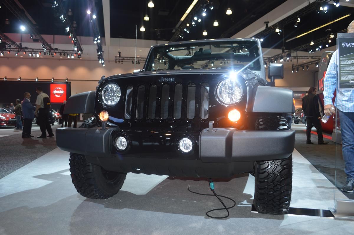 The all-new Wrangler Willys Wheeler Edition at the LA Auto Show