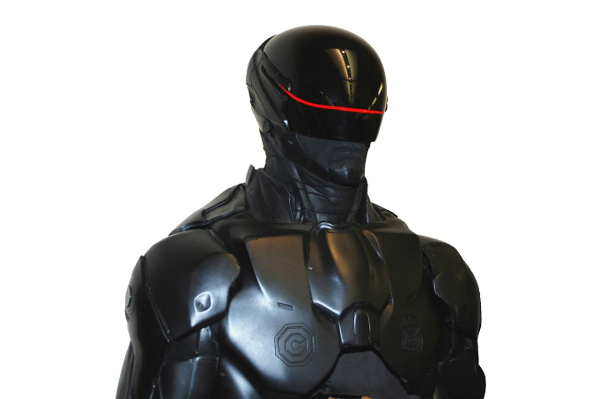 Stratasys 3D printers were used to help produce the RoboCop suit for the new movie
