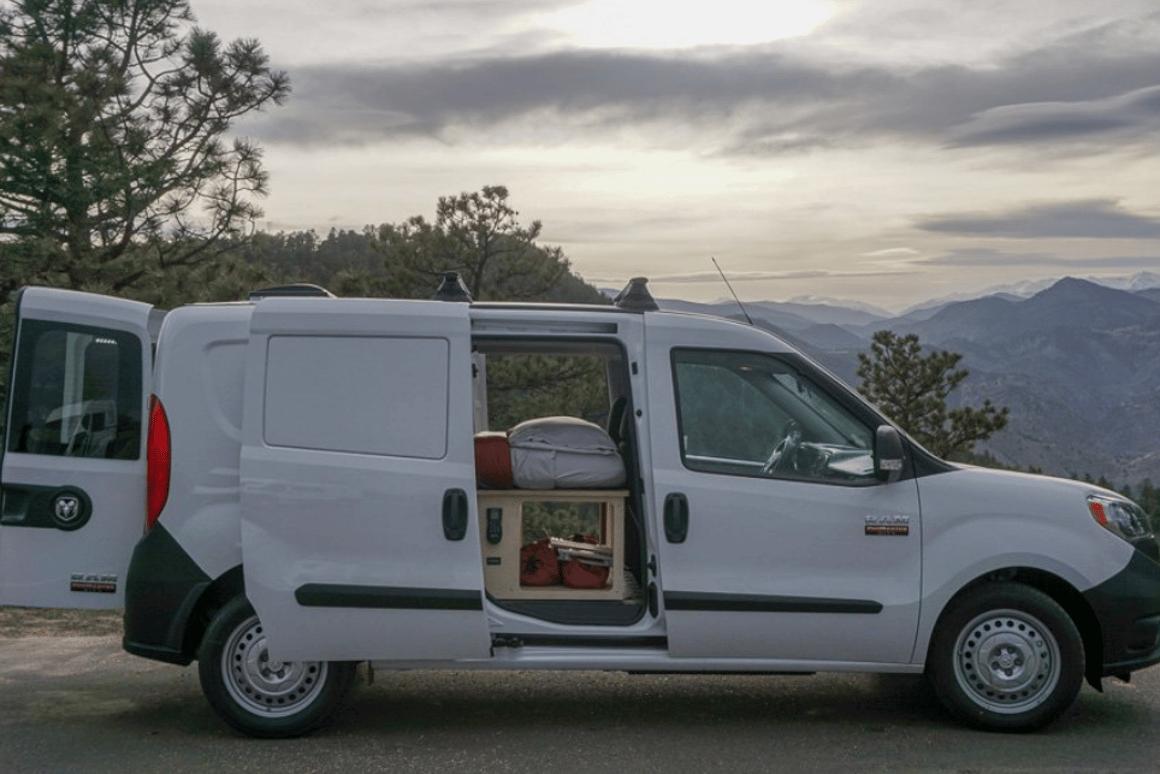 Contravans small camper van kit is quick, simple and under $14K