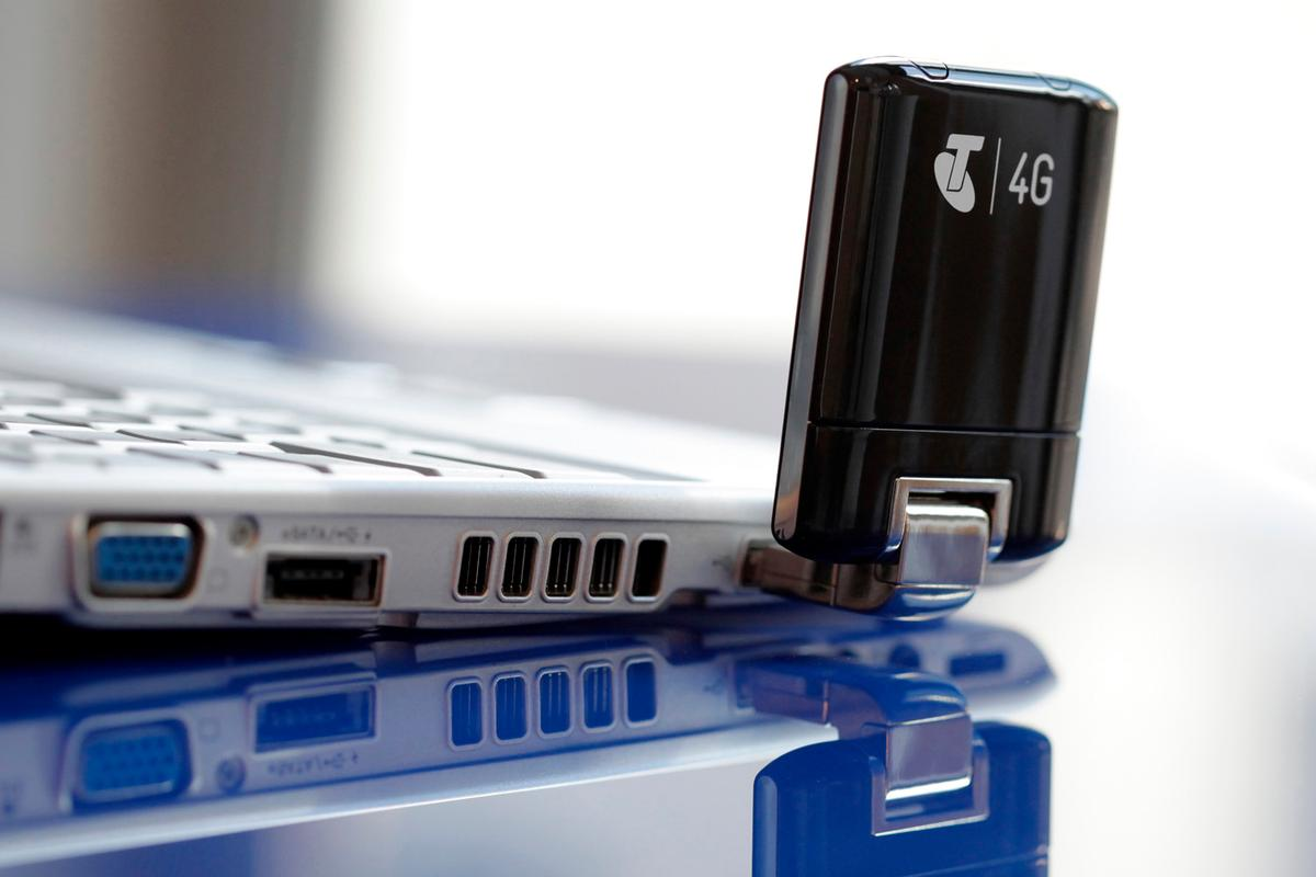 Telstra has launched a USB 4G mobile broadband modem in Australia