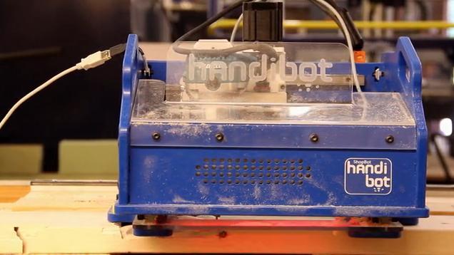 ShopBot's Handibot portable CNC machine