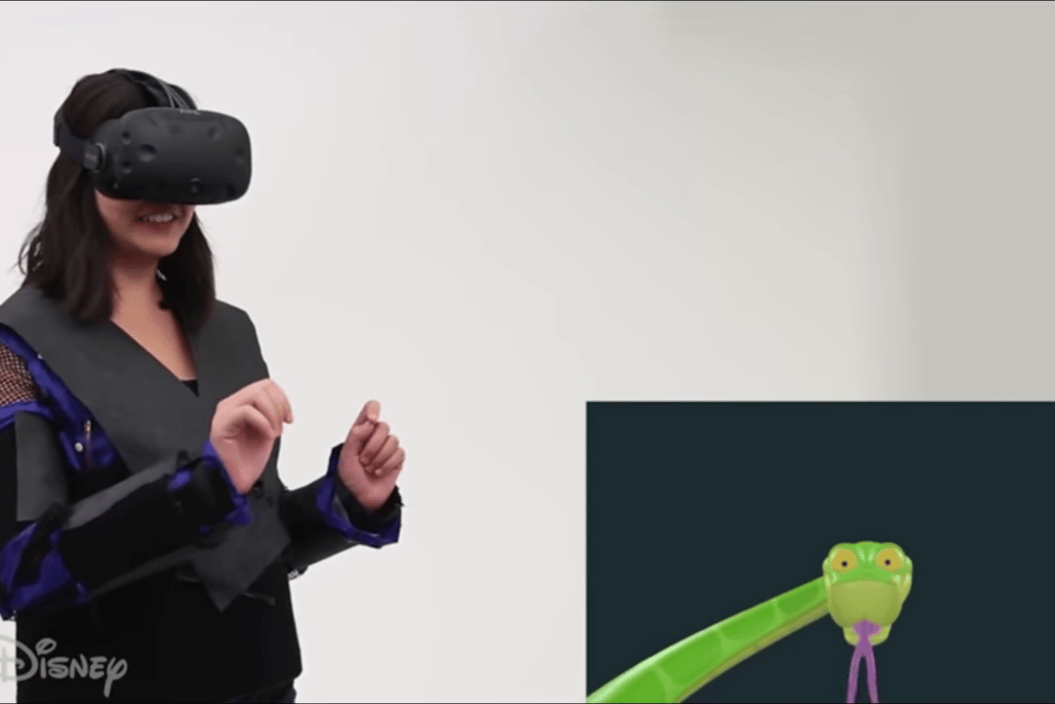 Disney Research's Force Jacket is a wearable device that can give detailed haptic feedback to VR games, including the feeling of a snake coiling itself around you