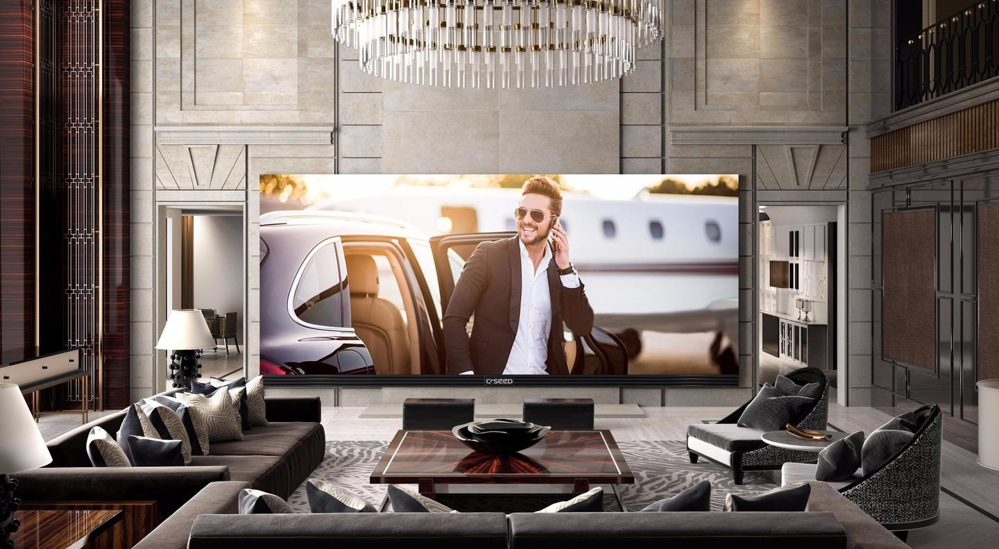 The C Seed 262 UHD TV would dominate any room