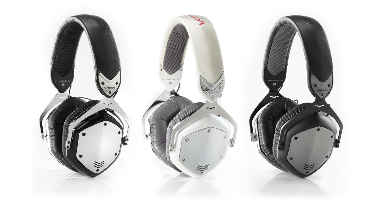 Hollywood's V-MODA brings high fashion to quality audio with the release of the Crossfade LP headphones