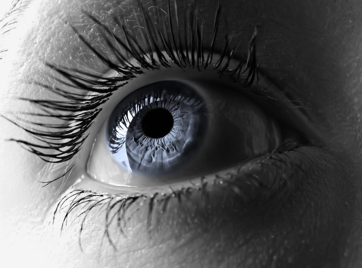 A new retinal prosthesis could allow the blind to see, by using pulses of near-infrared light to activate the retinal neurons in their eyes (Image via Shutterstock)