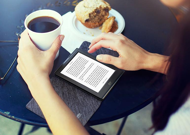 The Kobo Glo HD sports the same screen resolution as Amazon's Kindle Voyage