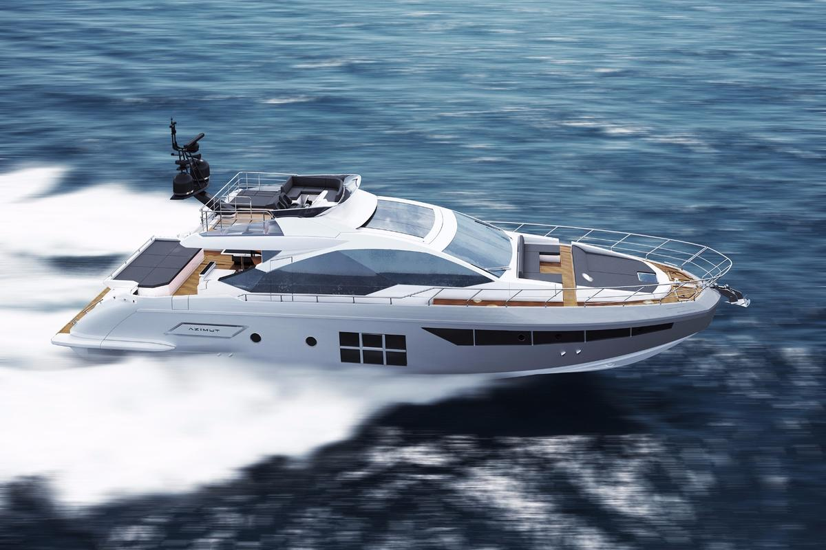 Azimut's all-new S7 will make use of carbon fiber in its superstructure