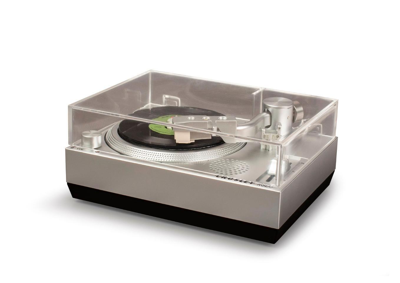 The Crosley Radio RSD3 turntable kind of looks like the newborn offspring of a Technics SL-1200