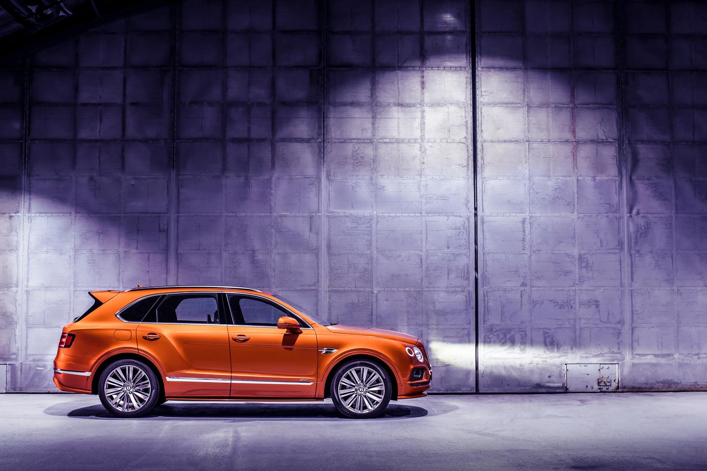 The Bentayga Speed sees a few changes to its exterior to go with the engine boost