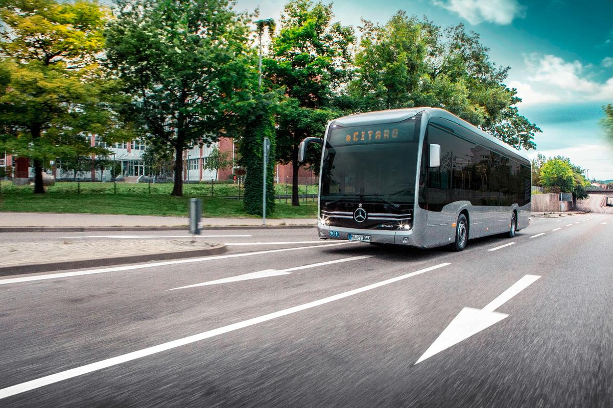 The future face of city buses: The Mercedes-Benz eCitaro all-electric people mover