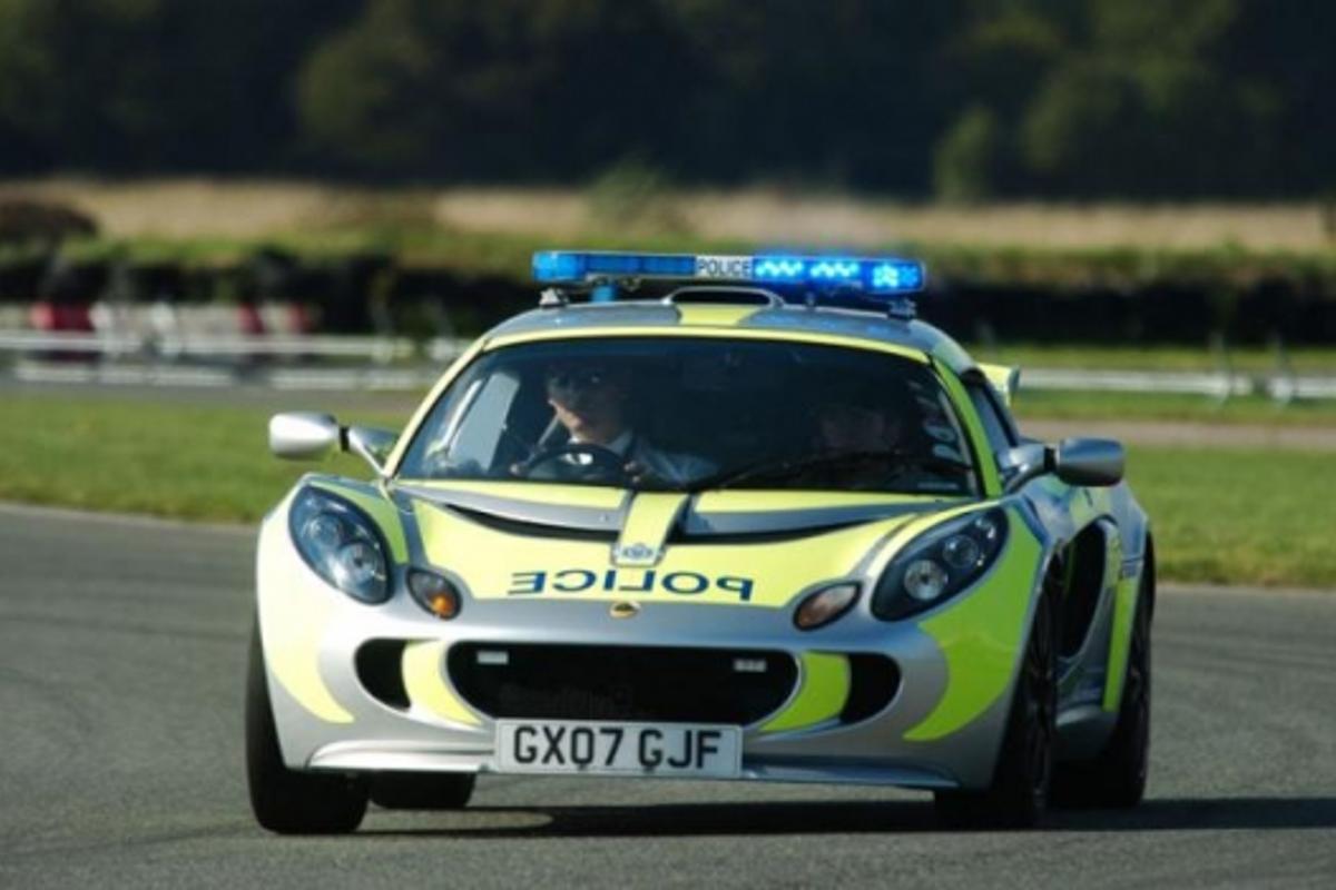 Lotus Exige police carPhoto courtesy of James Pearso