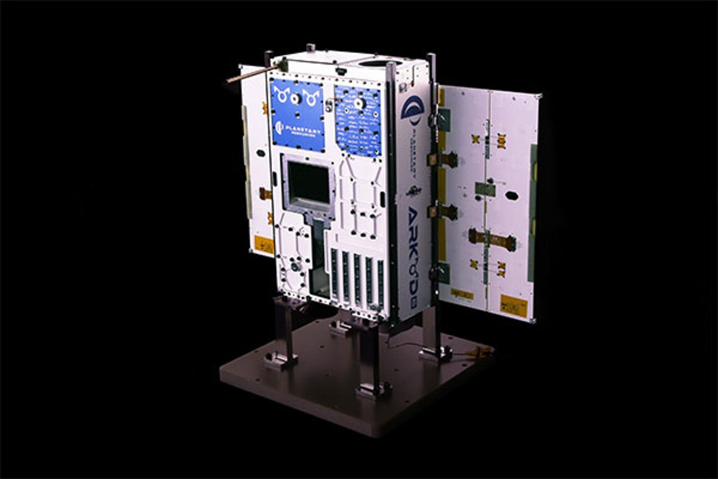 The Arkyd-6 is a six-unit CubeSat designed to test asteroid prospecting technology
