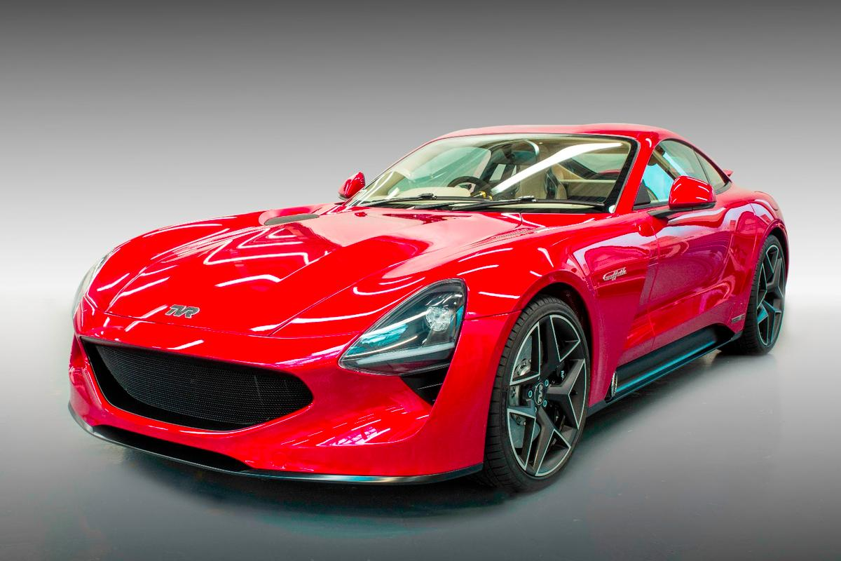 The TVRGriffith was unveiled this Friday