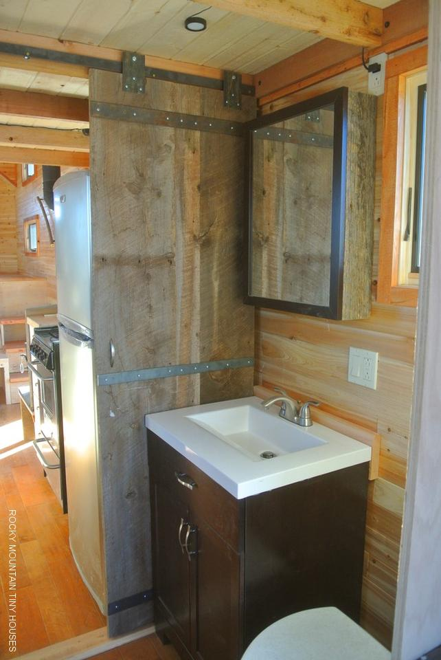 The Rio Grande operates via a cable hookup to a generator or power supply, and also requires a hookup for water (Photo: Rocky Mountain Tiny Houses)