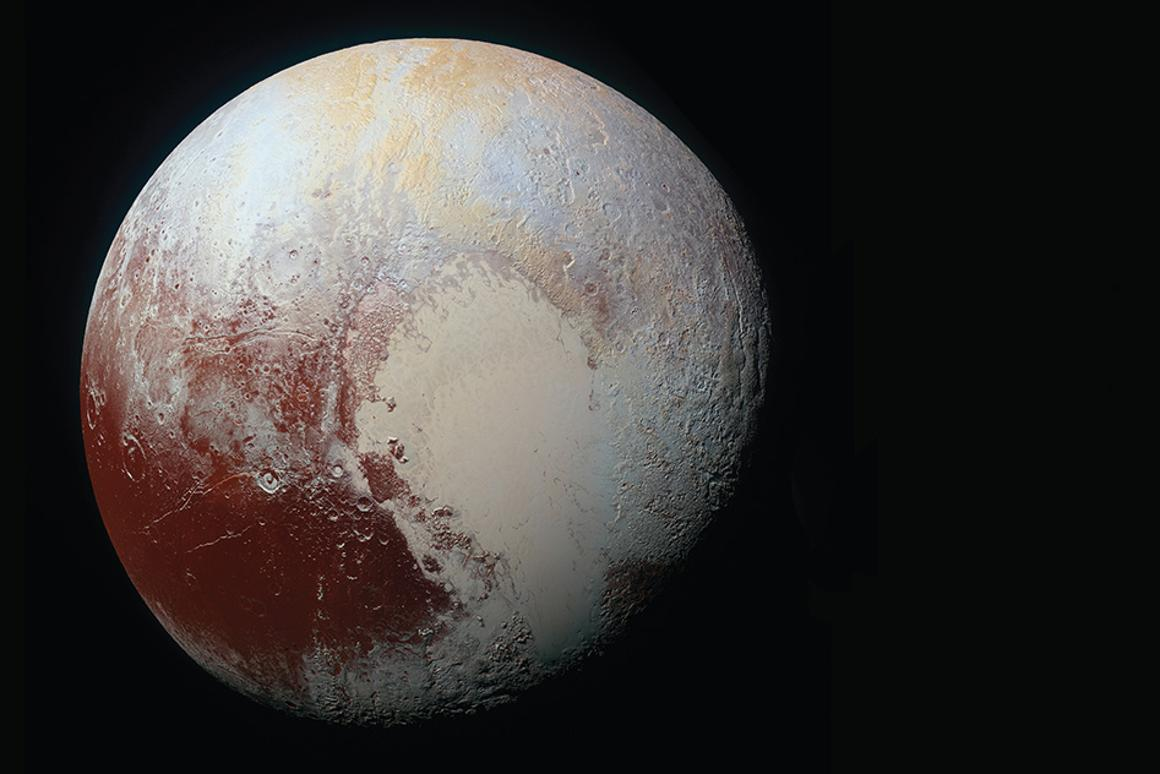 According to data collected by New Horizons,there is less than a five percent chance that the locked positioning of Tombaugh Regio and Charon is the product of chance