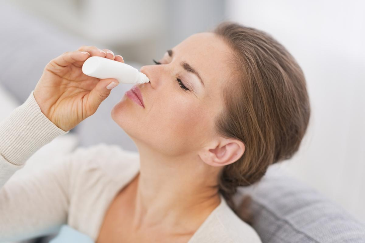 New research suggests a nasal spray could be used to treat depression (Photo: Shutterstock)