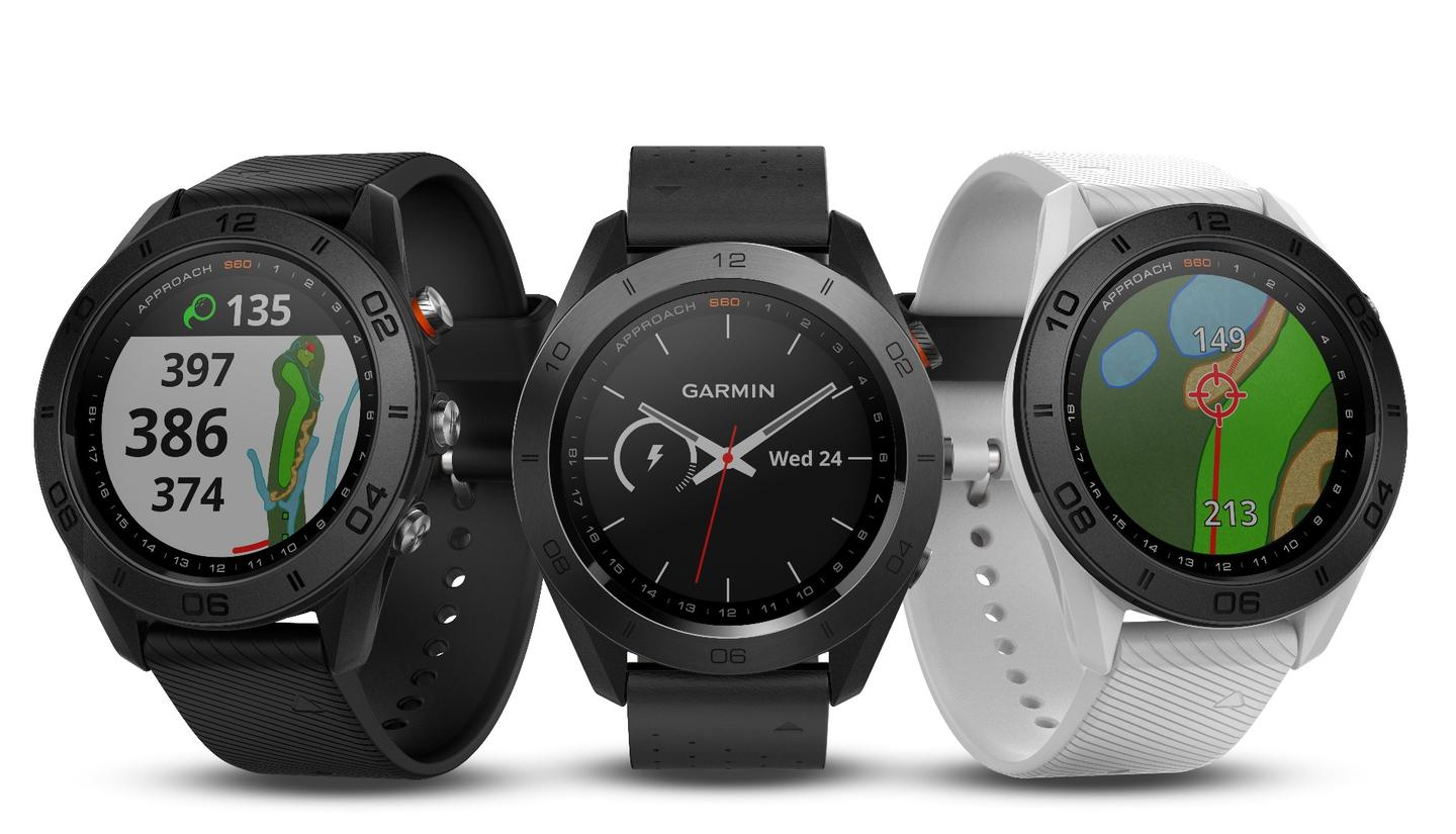 Garmin's Approach S60 golf watch comes pre-loaded with 40,000 courses from around the world
