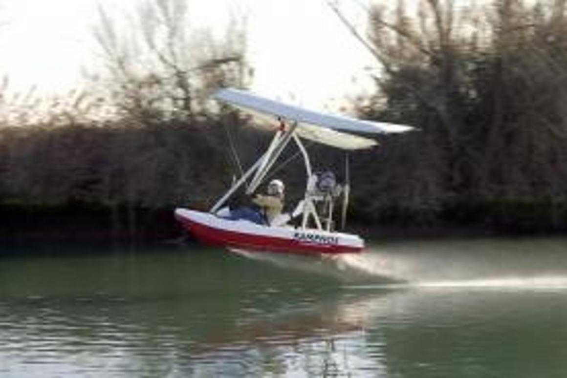 The Ramphos flying boat with wheels - a true all-rounder.