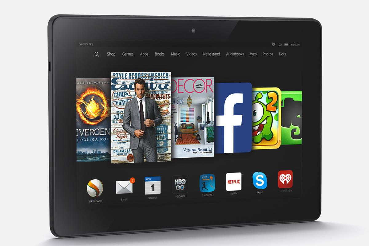 Today Amazon unveiled its modestly upgraded 2014 tablet, a new Kindle Fire HDX 8.9