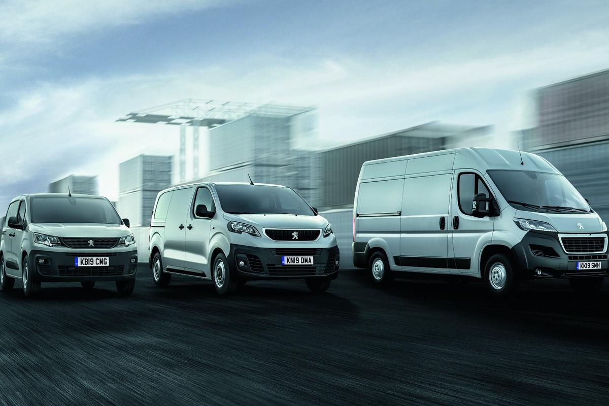 Peugeot's commercial van range will now include an electric Boxer