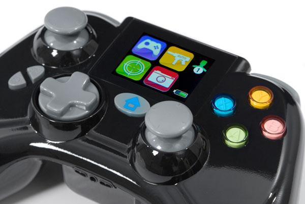 The Turbo Fire EVO Wireless Controller for Xbox 360 packs a 1.7-inch LCD display