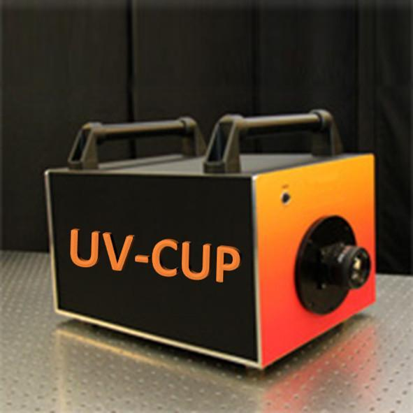 Illustration of the UV-CUP system