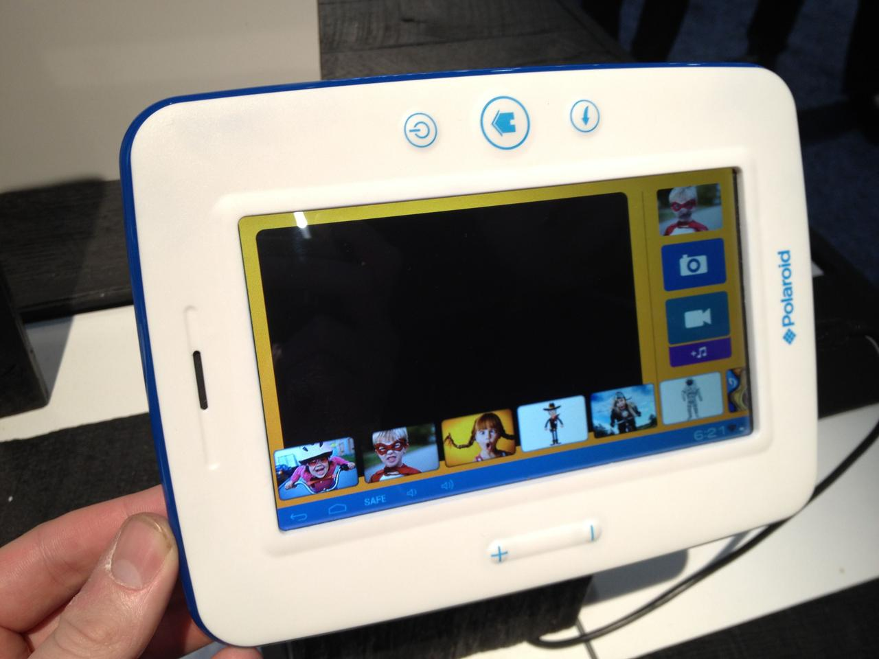Polaroid has launched Kids Tablet, featuring educational and filtered entertainment apps