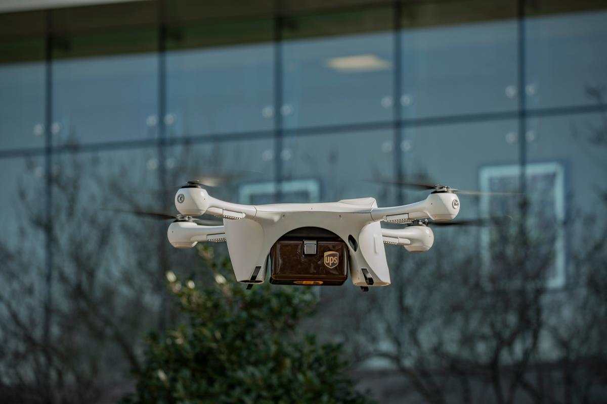The UPS delivery service will use Matternet's M2 drone