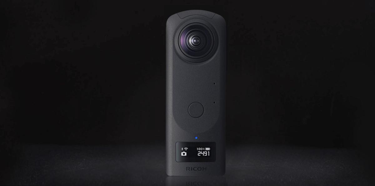 The Ricoh Theta Z1 360° stills and video  camera will go on sale towards the end of March, 2019