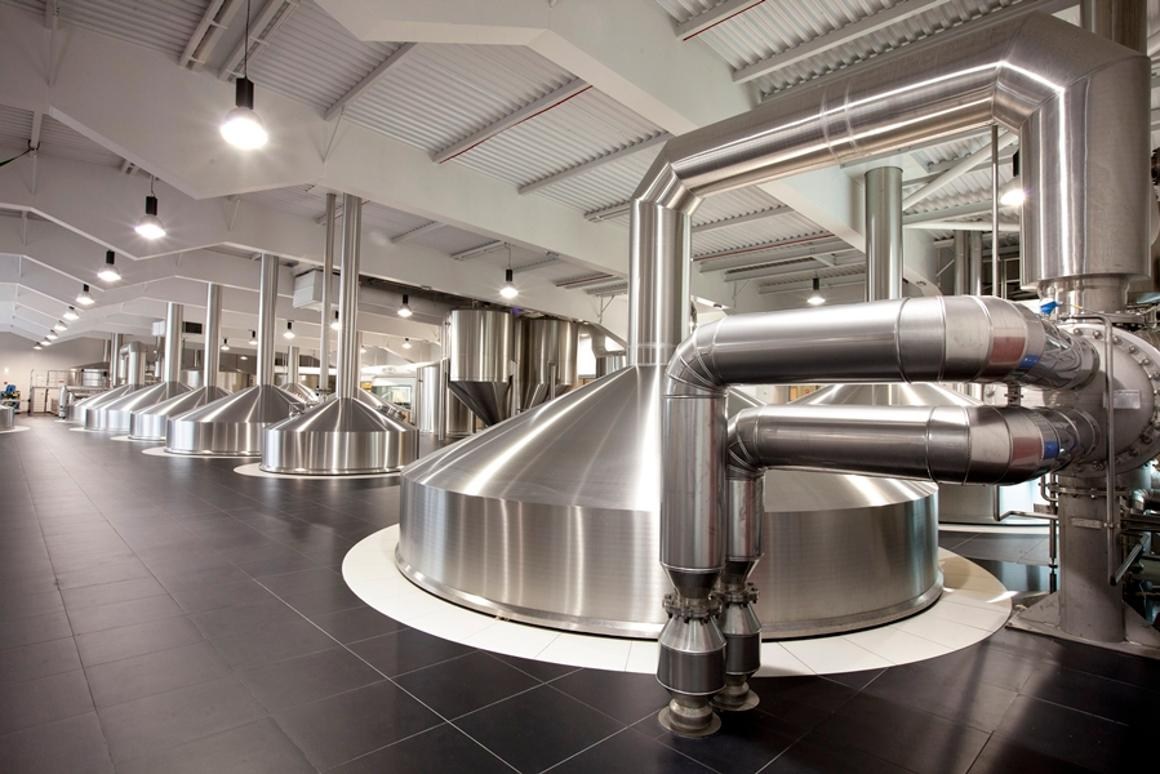 Brewhouse No. 4 is said to be the first major brewery in the world to receive LEED Platinum certification