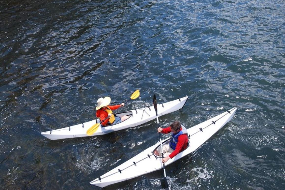 The Oru folding kayak
