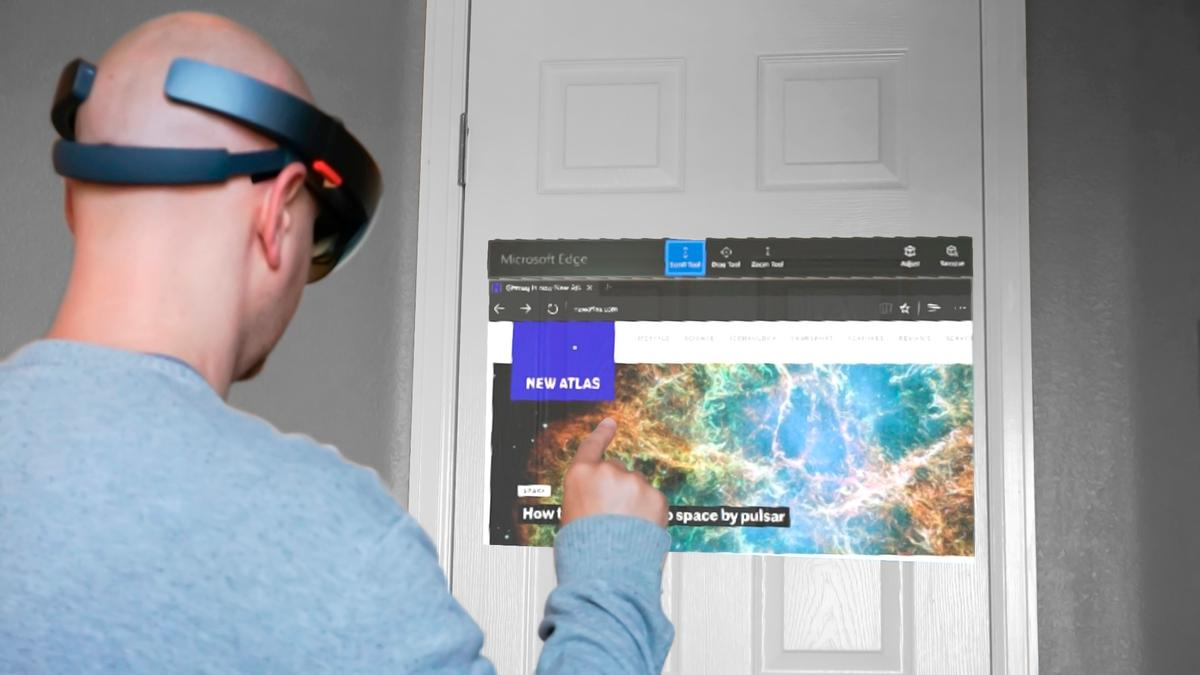 New Atlas reviews the HoloLens Developer Edition – despite some key limitations, it's a mesmerizing preview of things to come